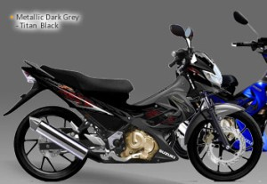 Suzuki - Satria F150 26 titan black dark grey