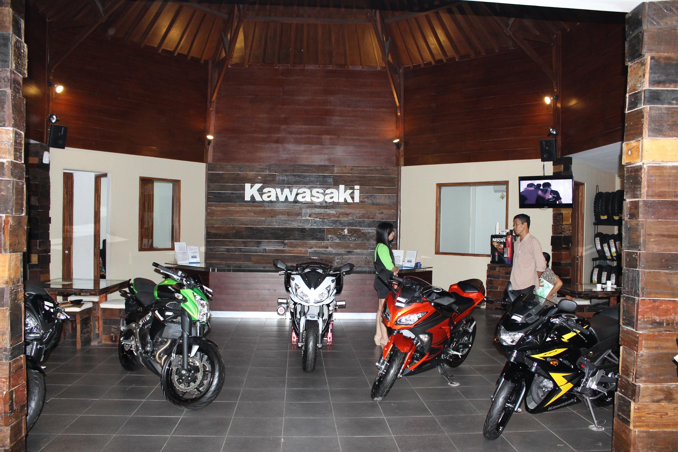 Kawasaki Dealer Bali