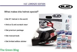 HJC Lorenzo Edition