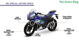R15 Special Edition Specs