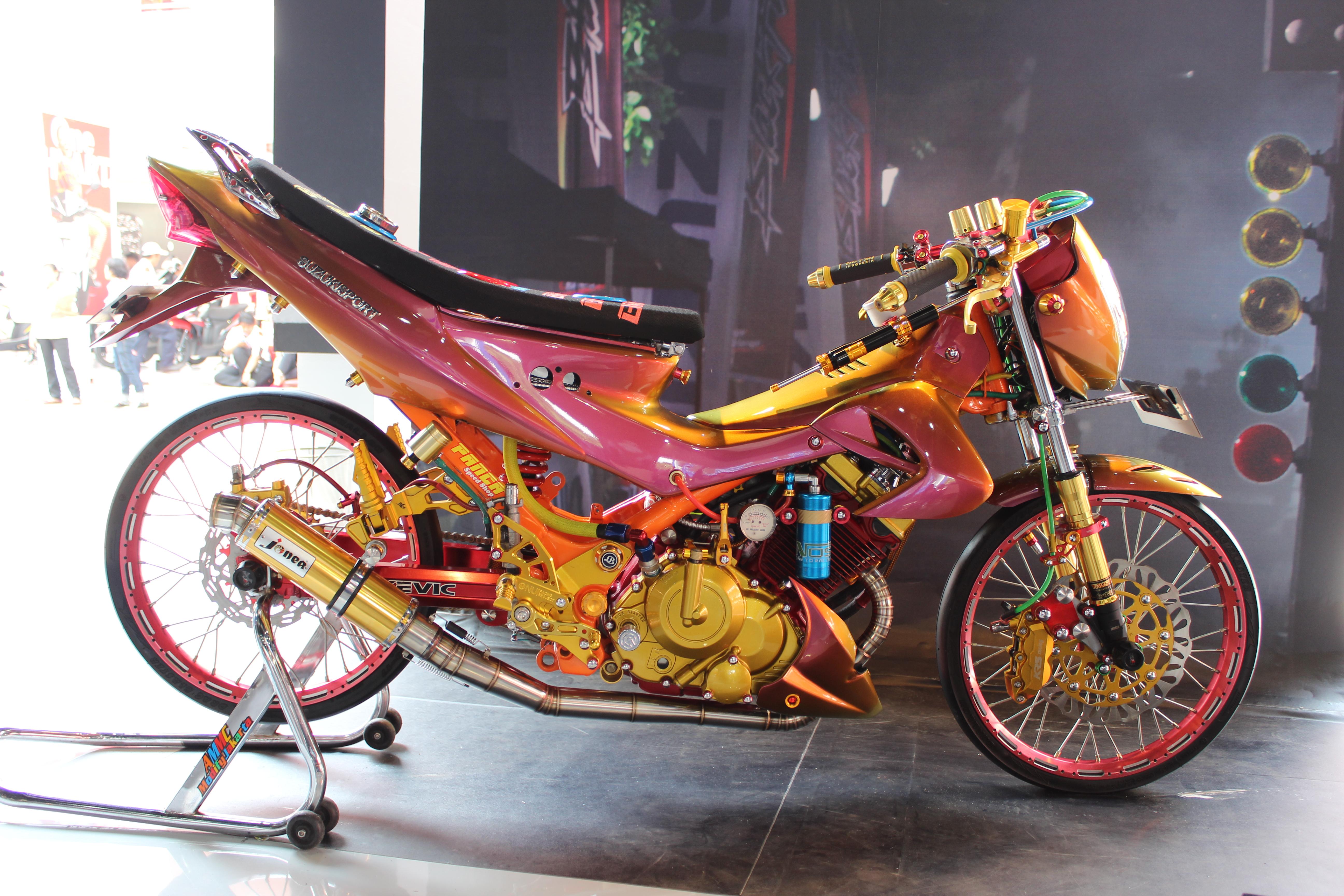 Kumpulan Modifikasi Satria Fu Jakarta Terbaru Daun Motor