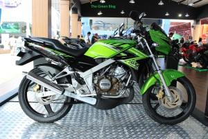 Kawasaki Ninja 150 R Stripping 2014