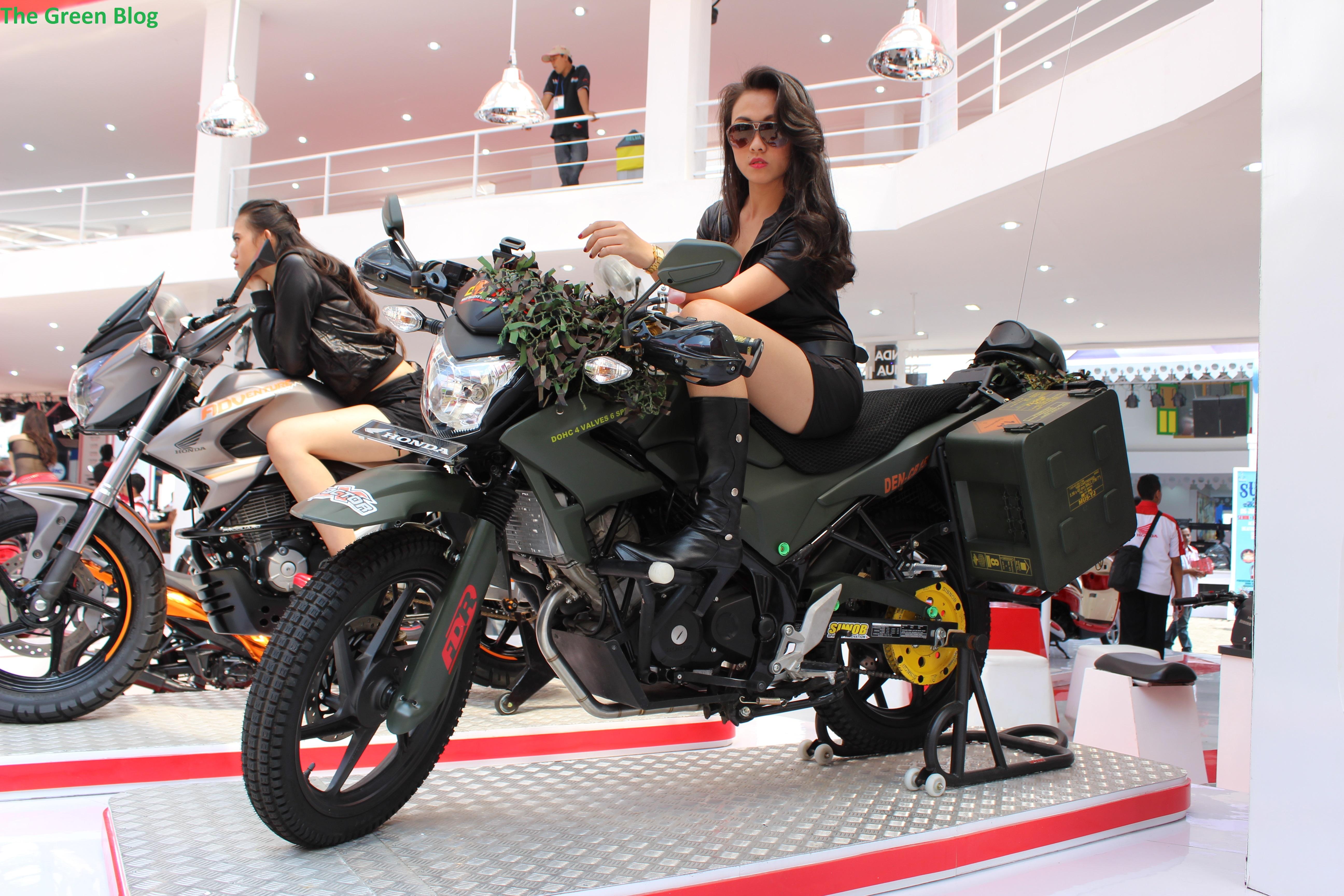 Picture Gallery Modifikasi Honda Di Jakarta Fair Kemayoran 2014
