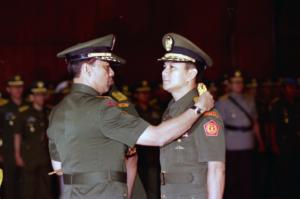 Jabatan Pangkostrad Prabowo digantikan pada tanggal 23 Mei 1998 (Foto: Jakarta Post)