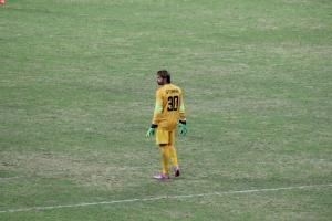 Marco Storari in action