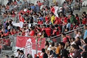 Singapore supporters