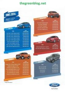 Ford IIMS 2014 2