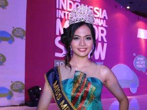 Miss Indonesia International Motor Show (IIMS) 2014