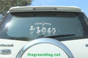 Stiker Keluarga