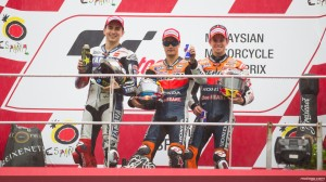 Sepang 2012 podium